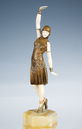 Art-Deco Figur Dancer of Lebanon